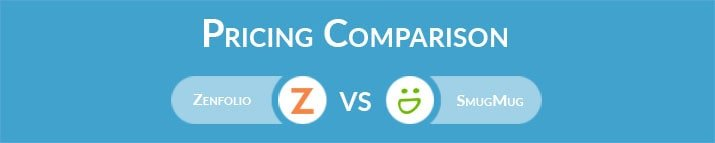 Zenfolio vs SmugMug: General Pricing Comparison