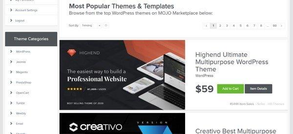 HostGator Template Designe