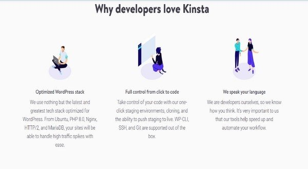 Kinsta Extra Features