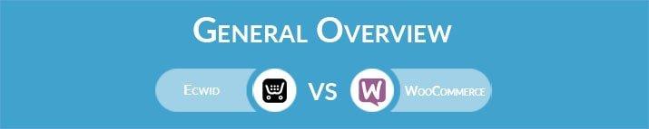 Ecwid vs WooCommerce: General Overview