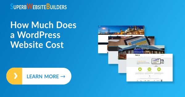 How Much Does a WordPress Website Cost