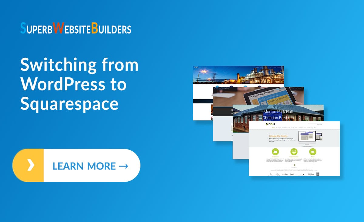 Switching from WordPress to Squarespace