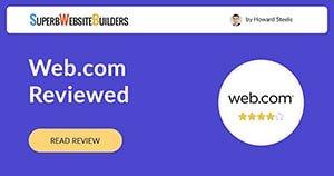 Web.com Website Builder and Hosting Review