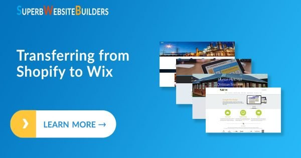 Transferring from Shopify to Wix