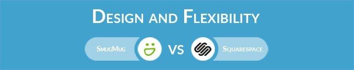 SmugMug vs Squarespace: Design and Flexibility