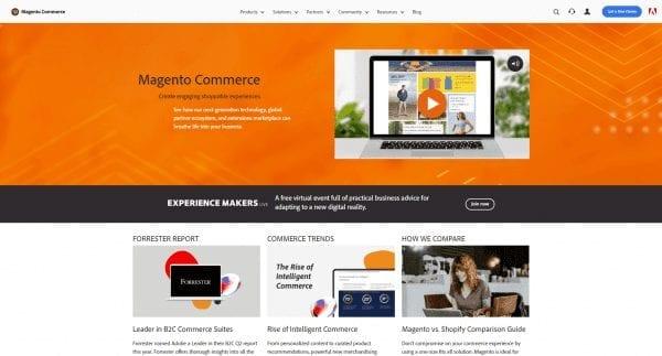 Magento – профессиональная ecommerce-платформа с открытым кодом