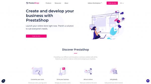 PrestaShop – узкоспециализированная CMS для интернет-магазинов