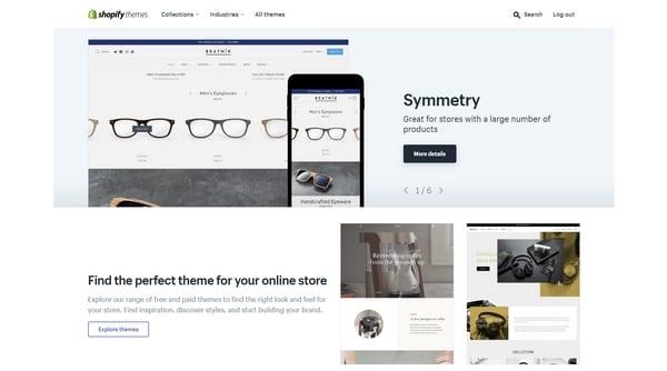 Shopify магазин шаблонов