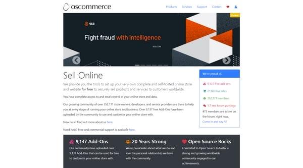osCommerce (Phoenix) – движок для онлайн-магазина с открытым кодом