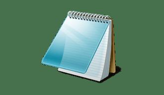 Блокнот – простейший редактор для создания сайтов