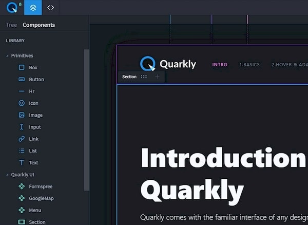 Quarkly — компоненты